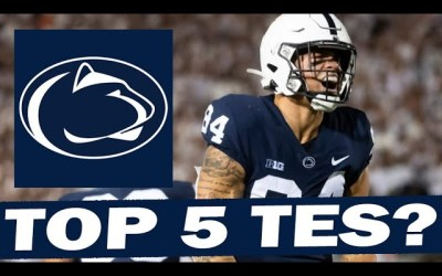 Penn State's TE Group Could Be Top 5 in the Country