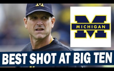 This is Michigan's Best Shot at Winning the Big Ten in a LONG Time