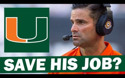 Is There Any Way Manny Diaz Can Save His Job?