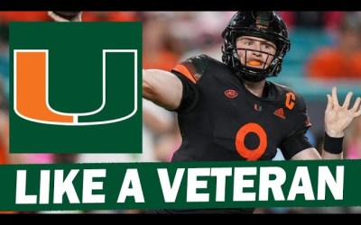 Tyler Van Dyke is Showing Discipline and Poise for Miami