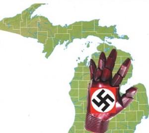 MI iron glove