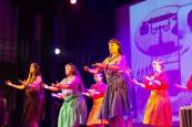 Hawaiian team performing @ICCR,Kolkata