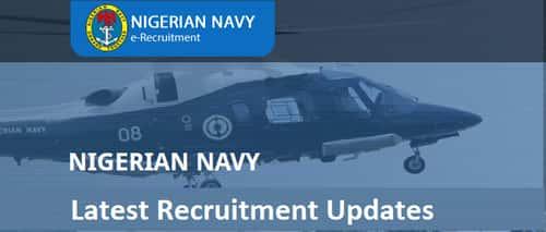 nigerian navy recruitment 2019