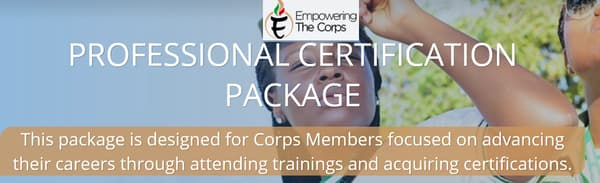 professional certification package