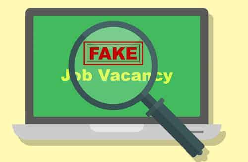 avoid fake job scam