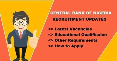 central bank nigeria recruitment