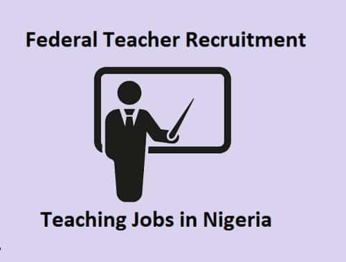 Federal Teacher Recruitment 2019