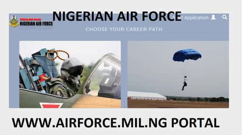 www.airforce.mil.ng portal