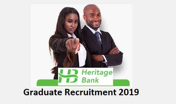 Heritage Bank Plc Recruitment