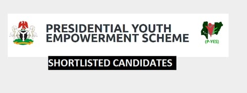 p-yes shortlisted candidates