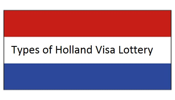 holland visa lottery types