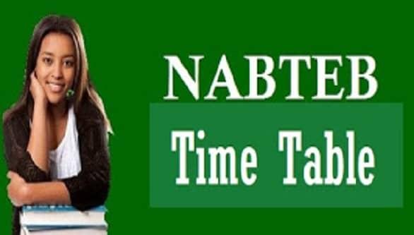 nabteb timetable 2019