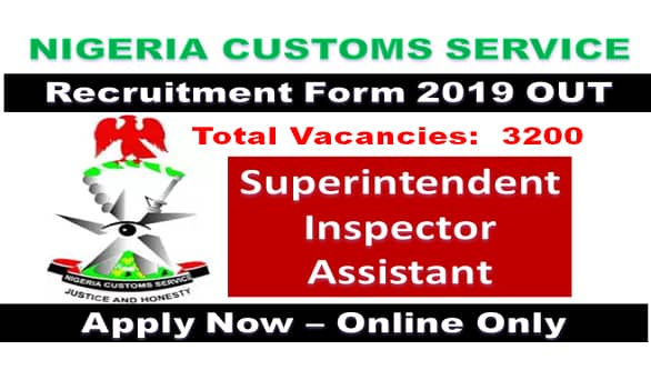 vacancy.customs.gov.ng login registration