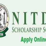 nitda scholarship