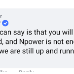 npower reply