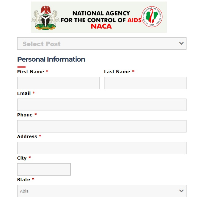 naca.gov.ng portal