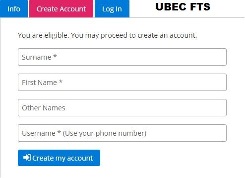 UBEC FTS Recruitment