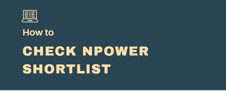 check npower shortlist