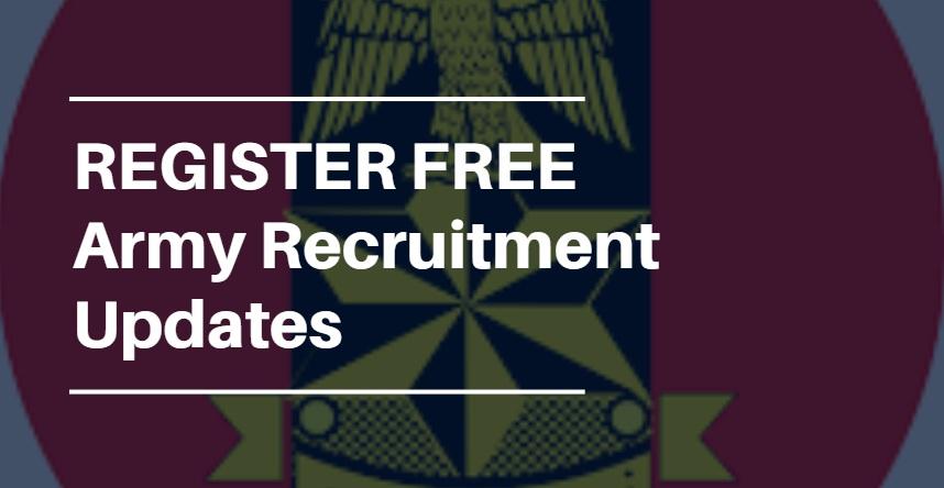 nigerian army recruitment updates