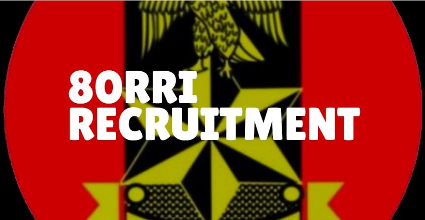 80RRI Recruitment