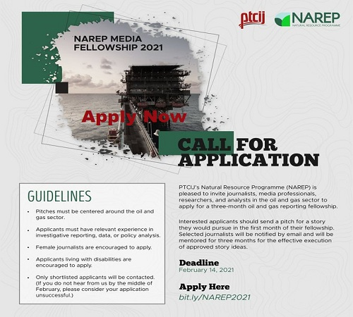 NAREP Oil and Gas Media Fellowship 2021 (N100,000 monthly Stipend) » Voice of Nigeria