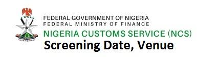 nigeria customs screening
