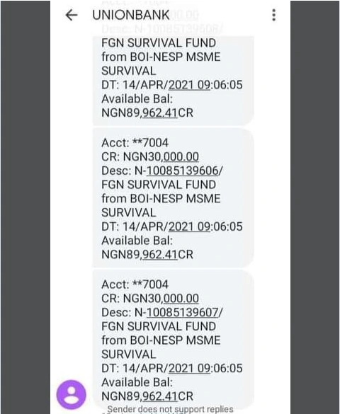 Survival Fund Begins Payment to Applicants » Voice of Nigeria