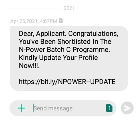 npower update