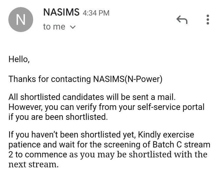 npower nasims email