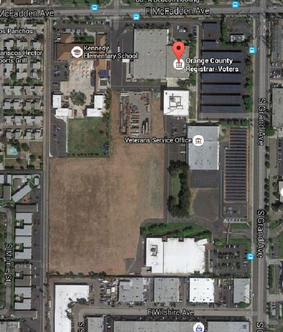 Proposed site for possible animal shelter next to Registrar of Voters
