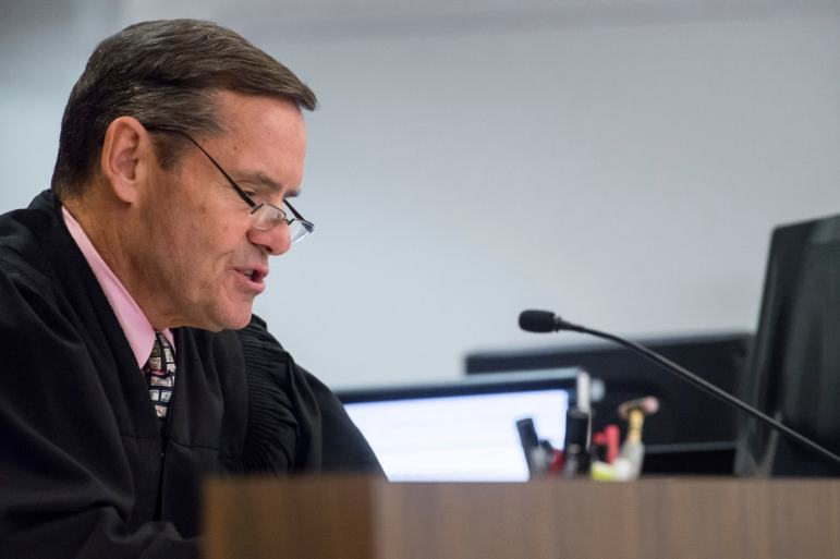 Orange County Superior Court Judge Thomas Goethals during a court hearing.