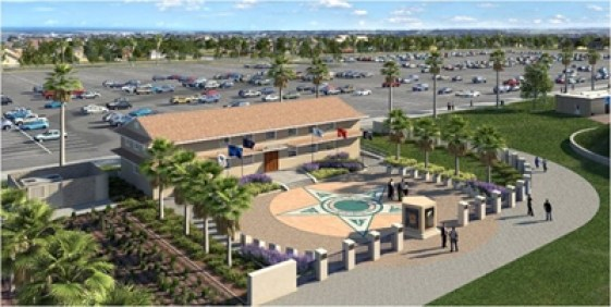 Design for the new Heroes Hall exhibit at the OC Fair & Event Center