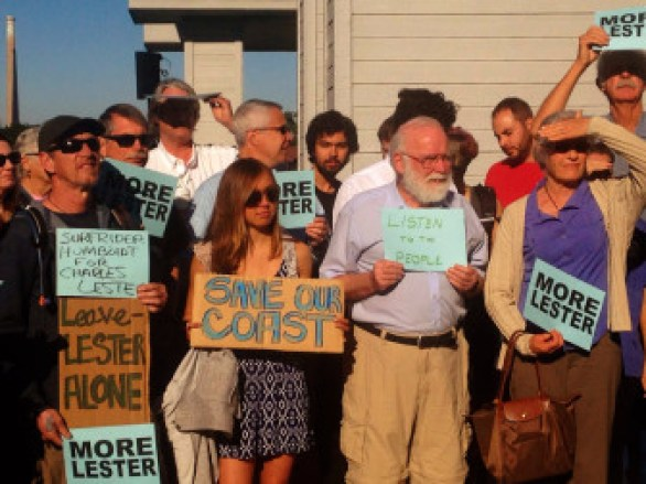 Almost 1,000 activists from all over California converged on Morro Bay in February 2016 to support Charles Lester as head of the Coastal Commission staff. Their calls also went unheeded.