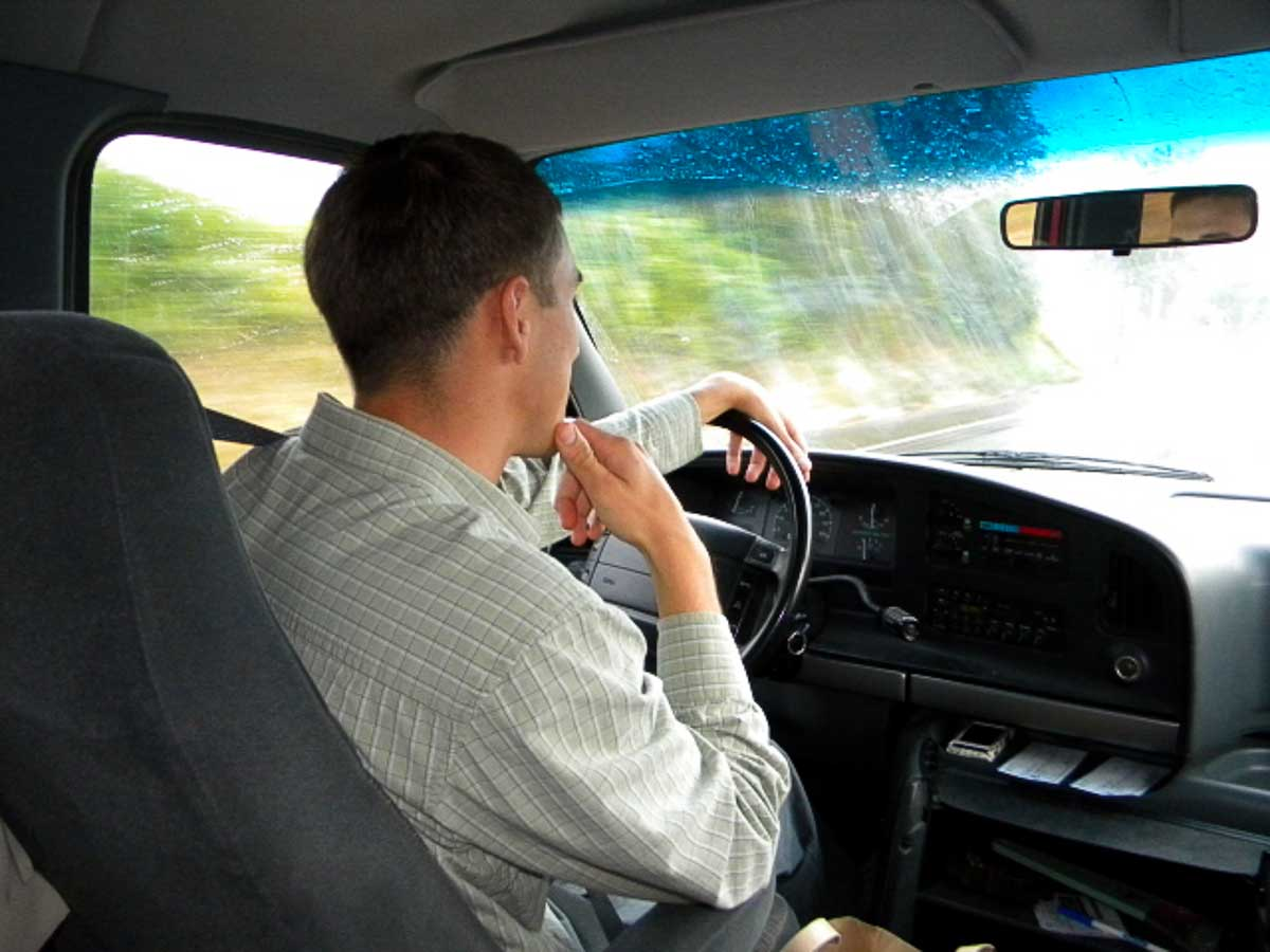 Travis Mast offered to take us to the airport, helping us out greatly.