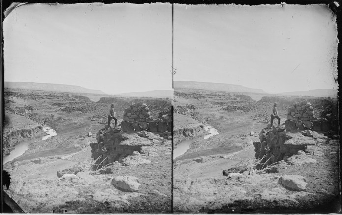 The canyon at Blackwater, near the Zuni Pueblo