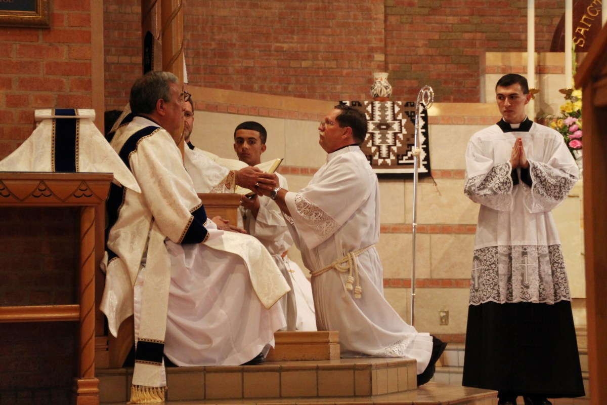 Deacon Todd Church was ordained to the diaconate in 2014.