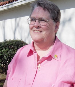 Sr. Marsha Moon, RSC. Principal of St. Anthony School in Zuni.