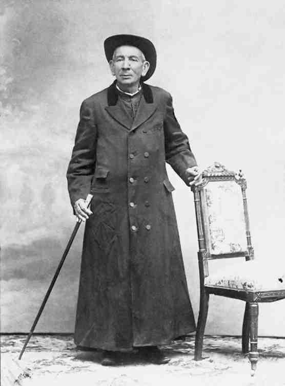 Fr. Brochero in 1910.