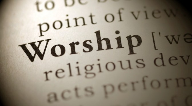 What or Who Determines How You Worship?