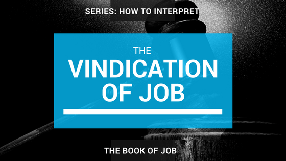 The Vindication of Job