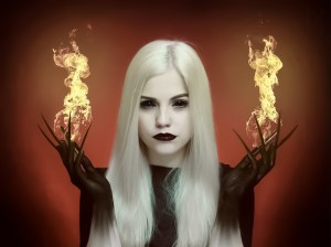 """Fire Fairy"" Roland Ungar"