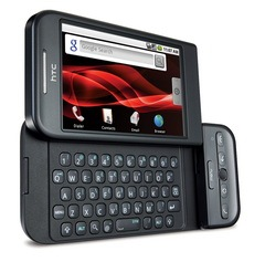 HTC Dream - Black with Slide Open