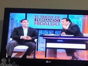 Jesus Salas on TV
