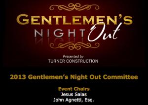 Gentlemens Charity Event Jesus Salas