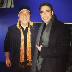 Jesus Salas and Tommy Mottola (legendary Manager)