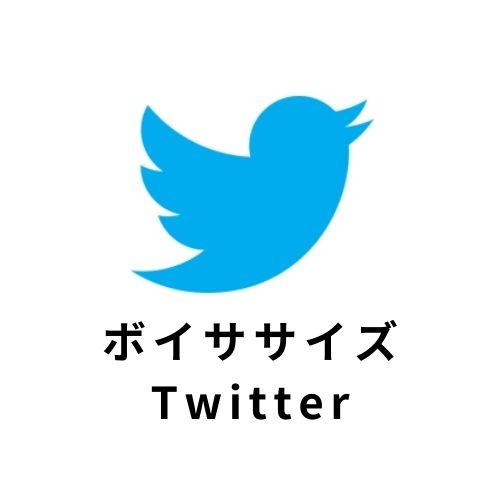 ボイササイズTwitter