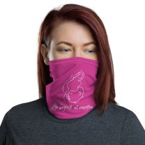 Life Begins at Conception Neck Gaiter