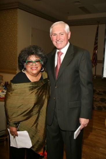 Dr. Ellen Clark & Mike Burke