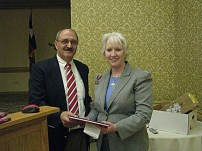 Lauren Walthall & Dr. Bruce Akright