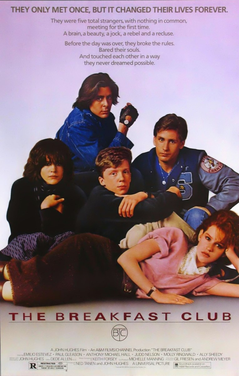 John Hughes  The Breakfast Club Trailer & Posters